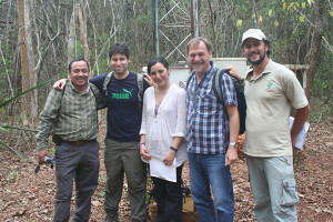 UD researcher Rodrigo Vargas is collaborating with the U.S. Forest Service and multiple institutions in Mexico on forest degradation studies.