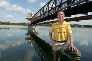 "Gerald ""Jerry"" Kauffman from the Institute for Public Administration, works with how climate change effects the water supply"