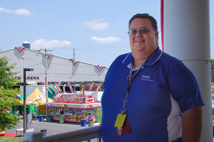 Doug Crouse has served at the State Fair for 25 years