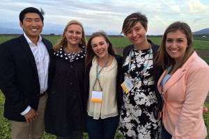 Four UD students attended the 2015 Produce Marketing Association Foundation Tech Knowledge Conference