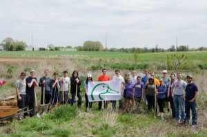 Ducks Unlimited student chapter helps shore up UD's wetland