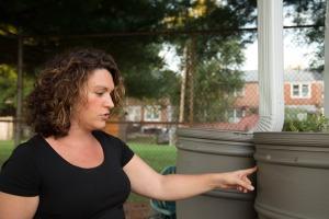 UD alumna Elisa King led the effort to create a community garden in Elsmere.