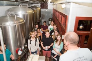 UD fermentations class tours Iron Hill  Brewery and Restaurant