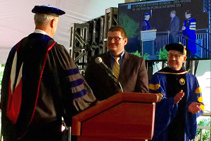 Jacob Fooks receives the George Ryden Award for outstanding dissertation